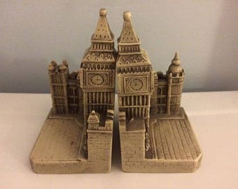 Big Ben Bookends