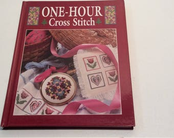 Cross Stitch Book, Pattern Book,  1 Hour Cross Stitch, Gift Ideas, Baby Patterns, Border Patterns, Towel Borders, Holiday Patterns