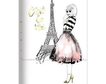C'est La Vie Journal Set