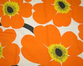 "Vintage MOD Retro FLOWER POWER Fabric ""Concord Fabrics"" 1970s 1960s"