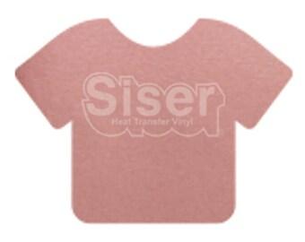 "ROSE GOLD Siser Easyweed Stretch Heat transfer vinyl 15"" x 3ft CAMEO Cricut"