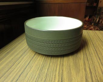 Vintage Mid Century Modern Ribbed Bowl