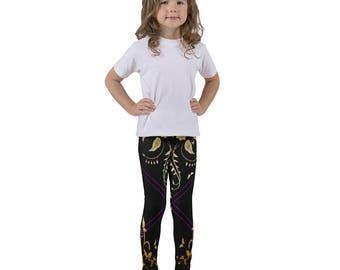 Golden Butterflies Kid's leggings