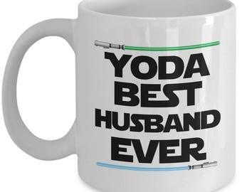 Yoda Best Husband Ever Star Wars Birthday Funny Nerd Gift for family