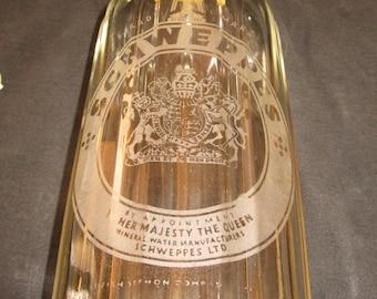 Schwepps Antique Seltzer Bottle