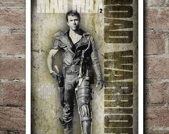 MAD MAX 2: The Road Warrior Movie Quote Poster
