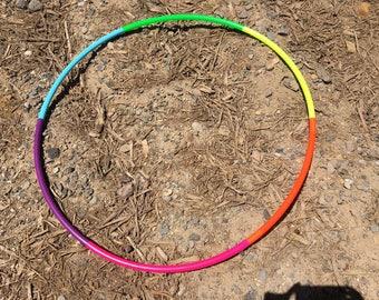 """Rainbow 3/4"""" PolyPro Hula Hoop"""