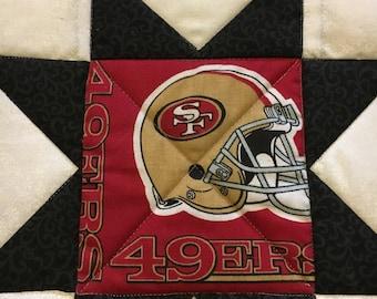 San Francisco 49ers pot holder