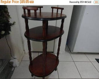 50% OFF 1940s vintage wood table end table nightstand any use