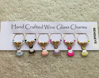 DRESSING UP My GLASS! Wine Glass charms