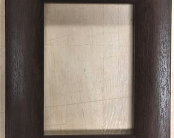 "F034 1-1/2"" Dark Brown Picture Frame"