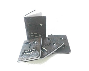 Mini Necronomicon Pocket Size Blank Journal, Book of the Dead Miniature Notebook