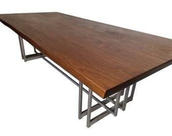 Slab dining table Etsy