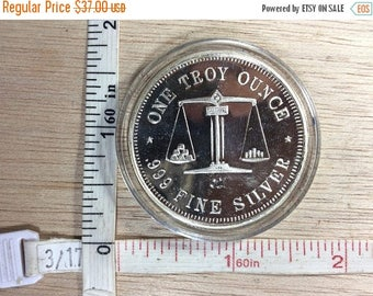 Troy Ounce Of Silver Etsy