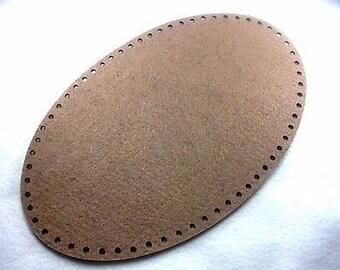 Pocket base, felt, Oval, 28 x 18 cm ** Color choice **