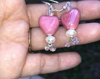 Ponk Heart Earrings