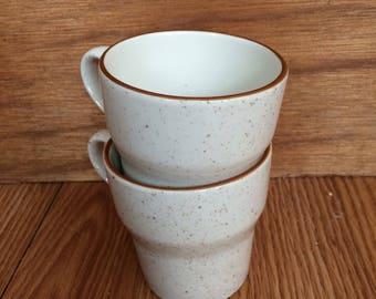 Vintage 2 ceramic coffee mugs