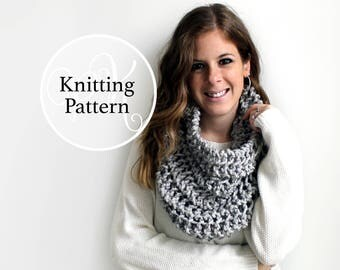 Knitting Pattern Aberdeen Cowl Instant Download