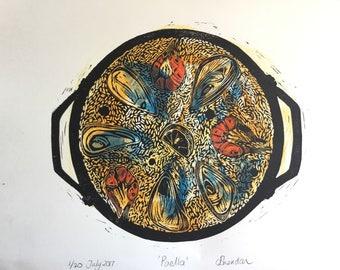 Paella lino original