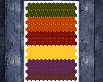 Weekend Sale Fall Themed Hexagons