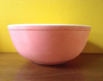 Vintage Pyrex Pink Bowl 404