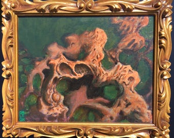 Bioorganic Texture Abstract Painting
