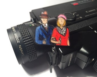 Bonnie and Clyde Pin