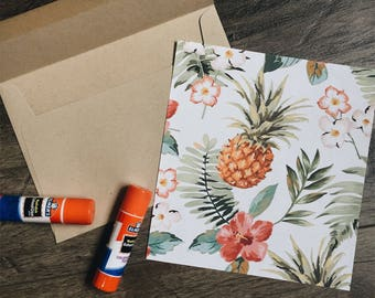 Pineapple Envelope Liners - Square