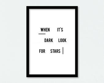 Look for Stars - Scandinavian Style