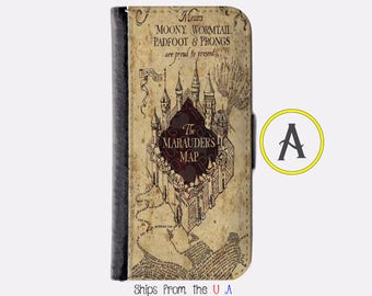 iPhone 6 Plus Case - iPhone 6 Plus Wallet Case - iphone 6 Plus - iPhone 6 Plus Wallet - Harry Potter iphone 6 Plus case A