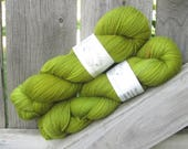 The Flying Shoe - The Yarnhand - SW Corriedale/Nylon Hand Dyed Sock Yarn