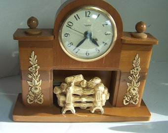 Fireplace clock from United