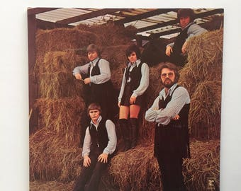 Kenny Rogers & The First Edition Something's Burning - Vintage Vinyl Record Gatefold Album LP