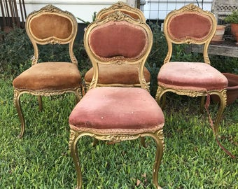 French Vanity Chairs to be Customized