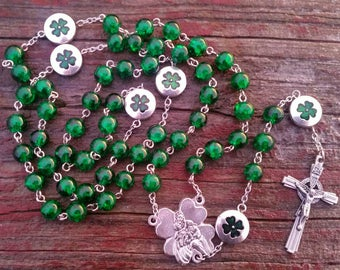 Catholic Rosary Beads St Patrick