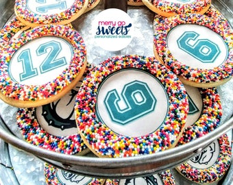 Graduation Favors // graduation cookies // personalized cookies // edible image // grad cookie // custom cookies // your image on a cookie
