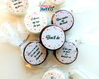 Sarcastic Valentine oreos // gift for him // valentines day // valentine gift // funny valentine // valentines for her // humorous valentine