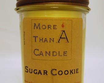 8 oz Sugar Cookie Soy Candle