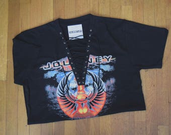 JOURNEY lace up tee