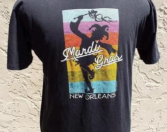 HAPPY SUMMER SALE Vintage New Orleans Mardi Gras T-Shirt