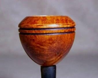 XL Bulldog bowl smooth fits Kirsten pipe Adapter Req'd USA DW1040