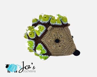 CROCHET PATTERN - Chopper the African Flower Hedgehog Crochet Pattern