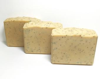 Orange Ultra Gardeners Soap, Handmade Soap, Cold Process Soap, Bar Soap, Exfoliates