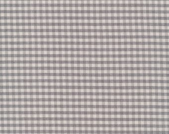 Gray Checks Please for Cloud 9, Organic, Yarn Dyed Broadcloth, fabric by the yard, organic fabric, modern quilt, boy fashion, modern blender