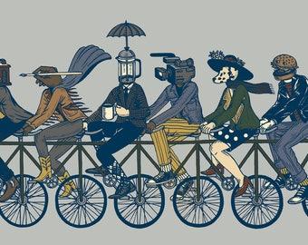 4th Street Bicycle Print