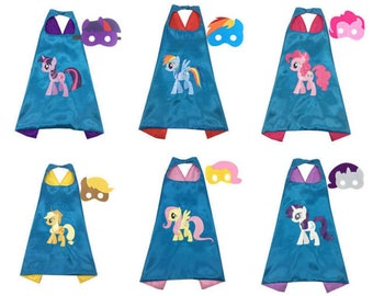 Pony Cape and masks