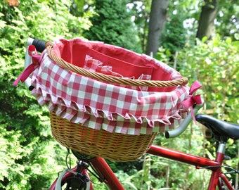 Bicycle basket, bike basket, basket for bike, bike accessories, basket bike bag, wicker bike basket, handwoven basket, willow bike basket