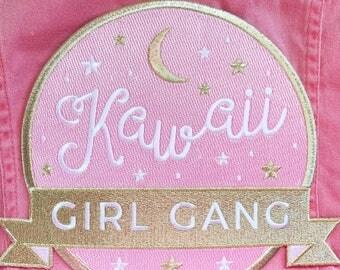 Kawaii Girl Gang Back Patch