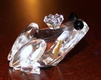 Swarovski Crystal Prince Frog Mint in Box 010 010 / 7642 048 000 (D)