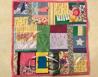 Fidget Quilt / Sensory Blanket - Spring is Coming